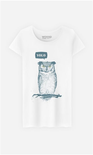 T-Shirt Yolo Owl