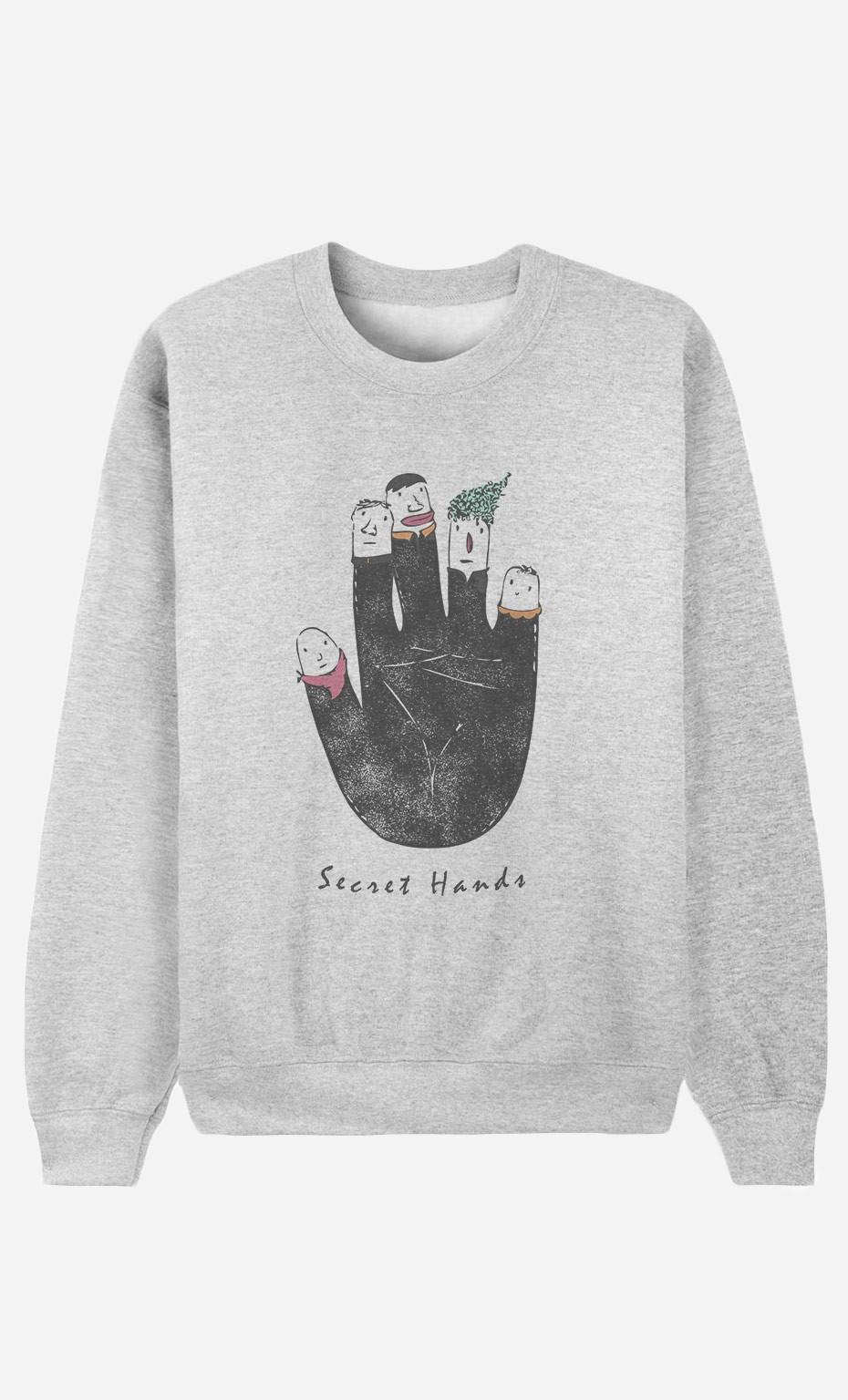 Sweatshirt Secret Hands