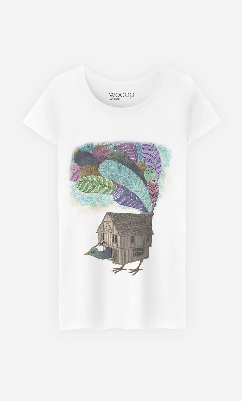 T-Shirt Birdhouse