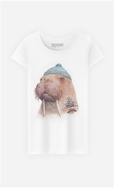 T-Shirt Tattooed Walrus