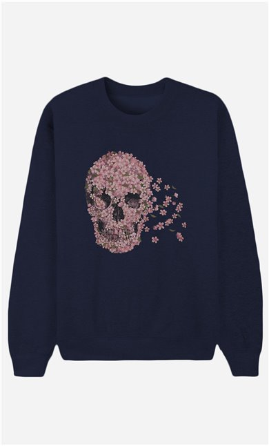 Blue Sweatshirt Beautiful Death