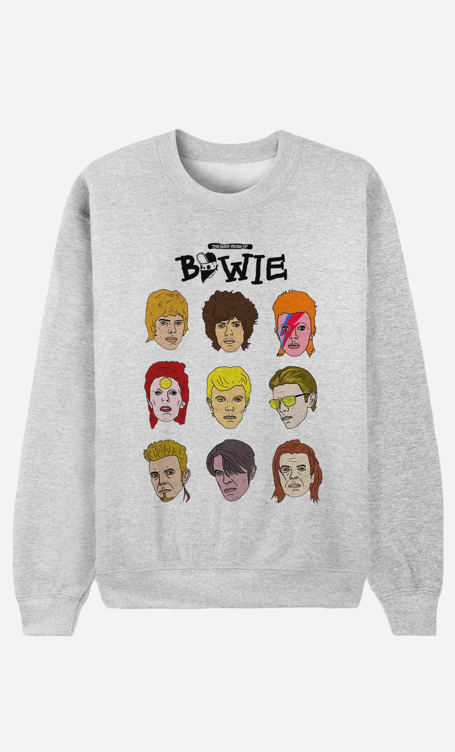 Sweatshirt David Bowie