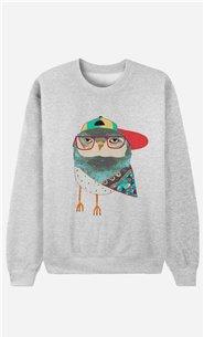 Sweatshirt Hip Owl