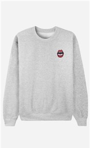 Sweatshirt Kiss - embroidered