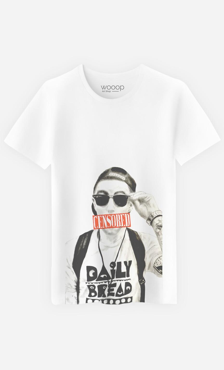 T-Shirt Mac Miller Censored