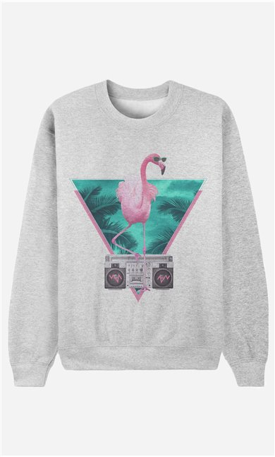 Sweatshirt Flamingo