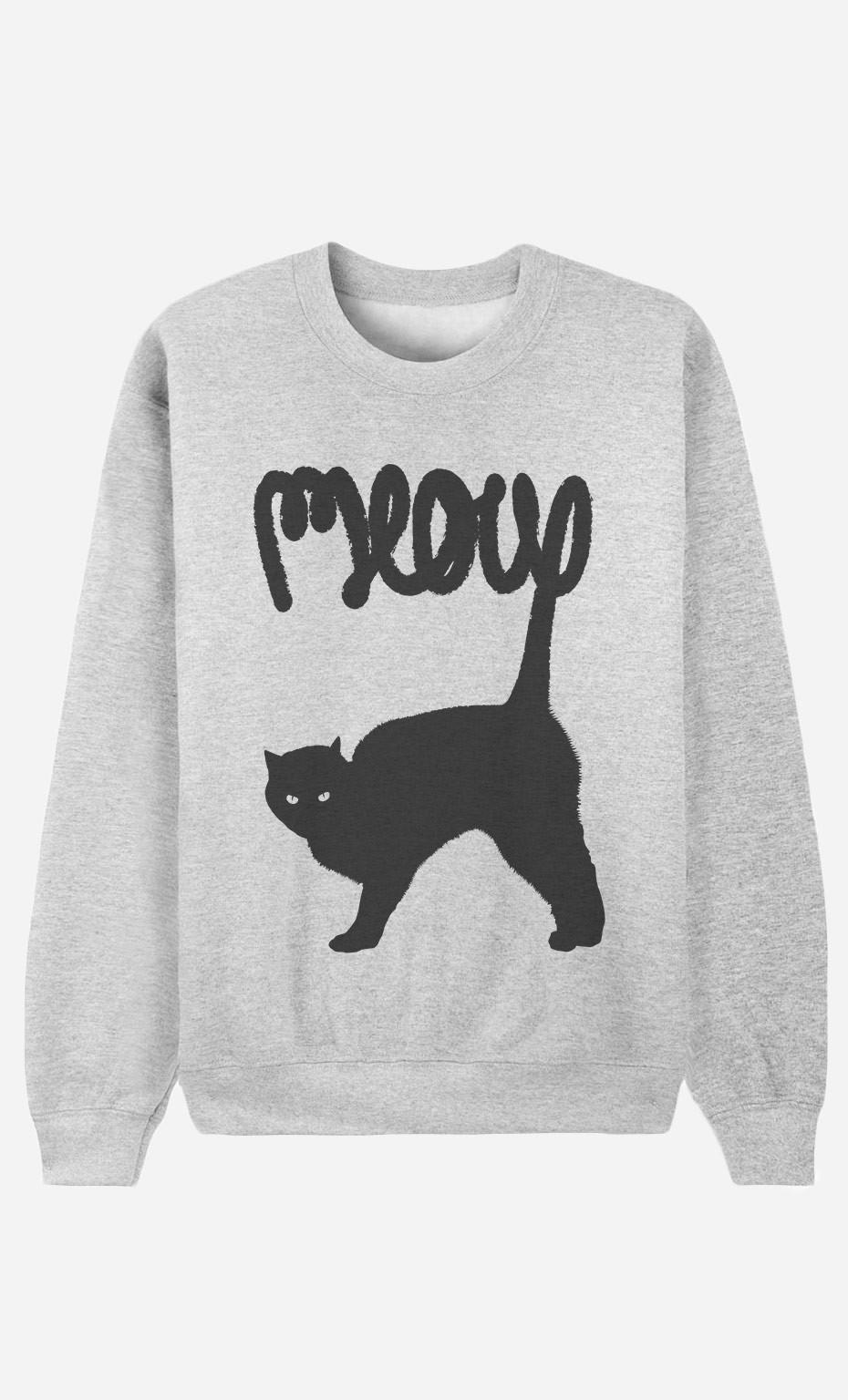 Sweatshirt Meow