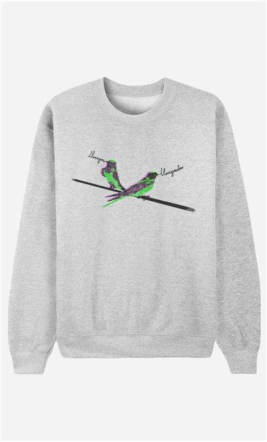 Sweatshirt I Love You Too