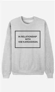 Sweatshirt With Kim Kardashian