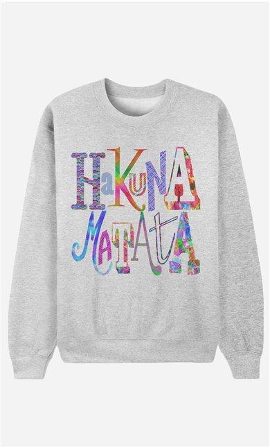 Sweatshirt Hakuna Matata Color