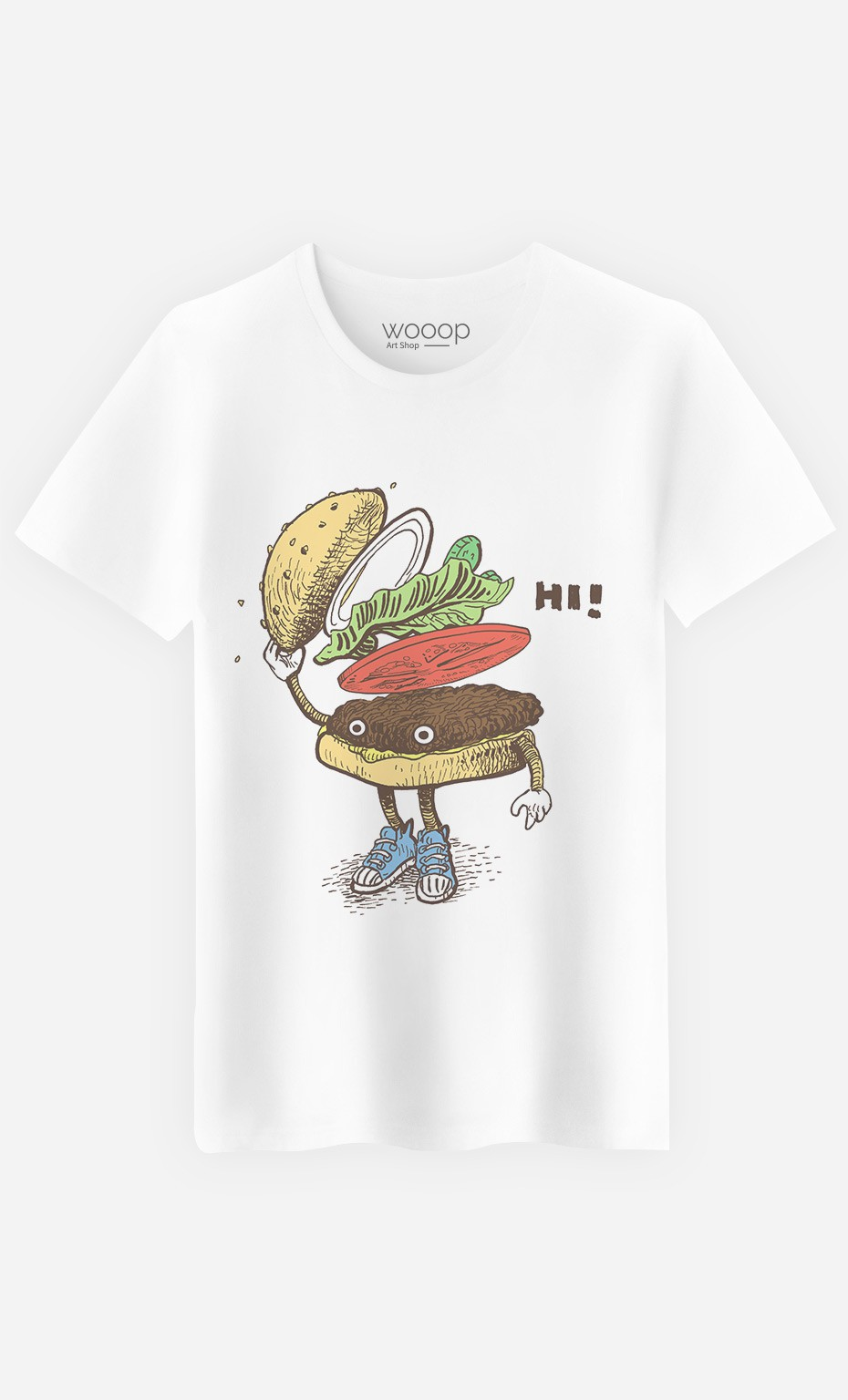 T-Shirt Burger Greeting