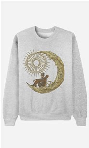 Sweatshirt Moon Travel