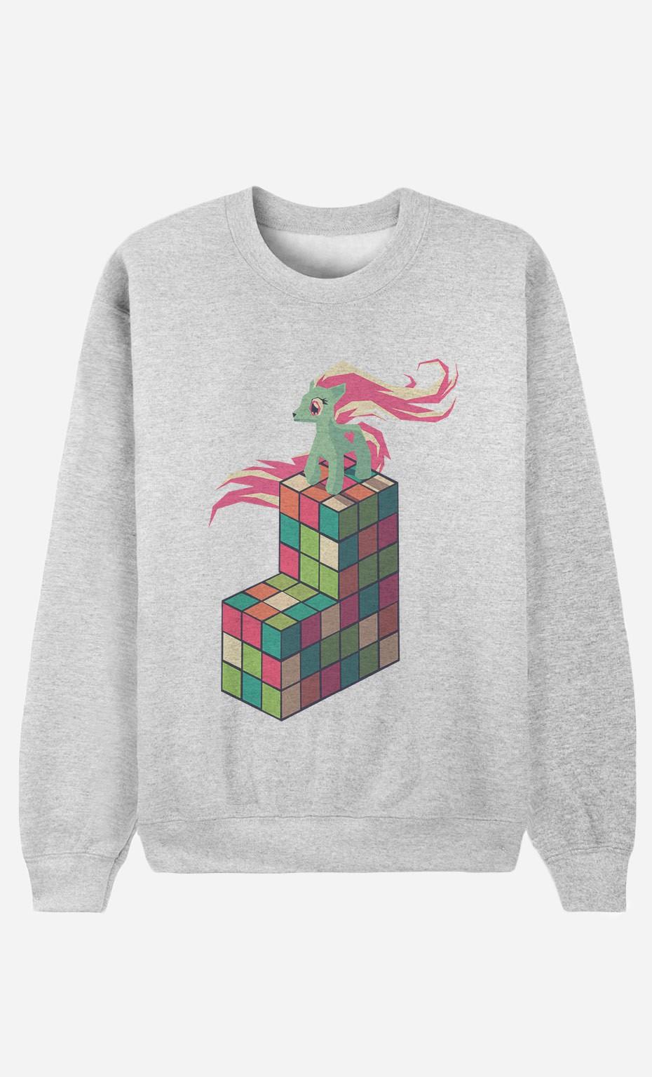Sweatshirt Pony Rubik