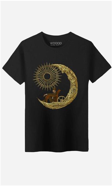 T-Shirt Moon Travel