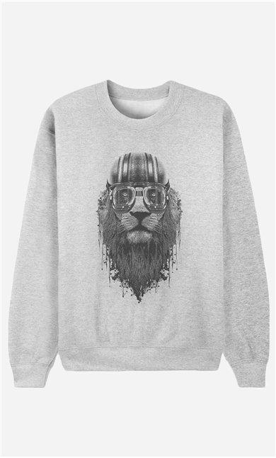 Sweatshirt Lion Rider 2