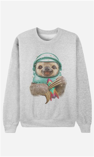 Sweatshirt Space Sloth