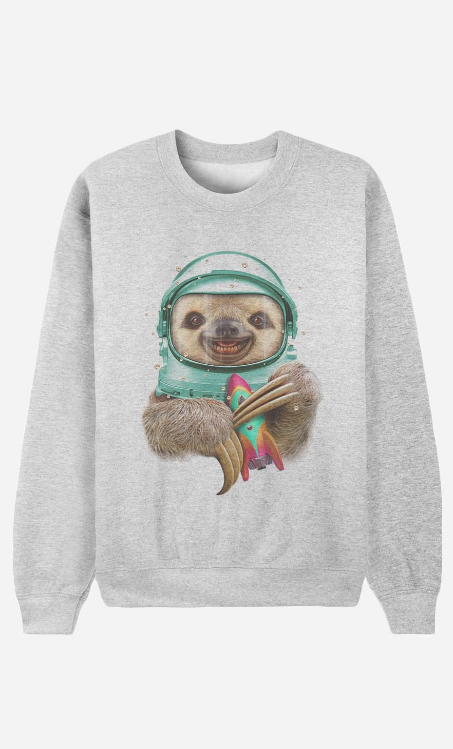 Sweatshirt Space Sloth