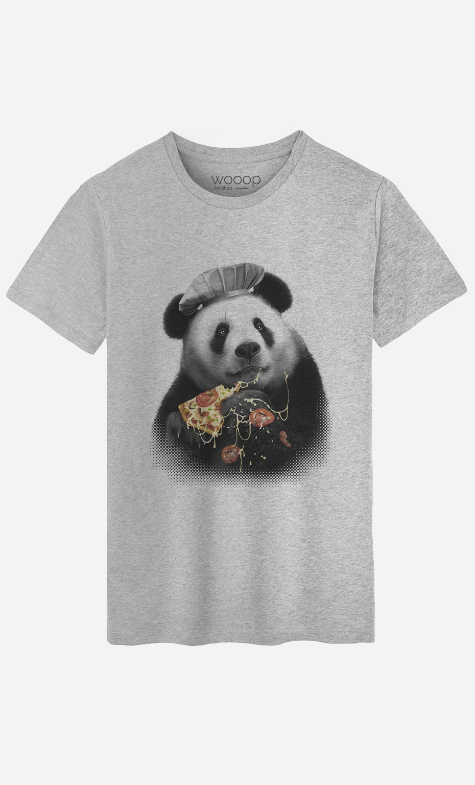 T-Shirt Panda Pizza