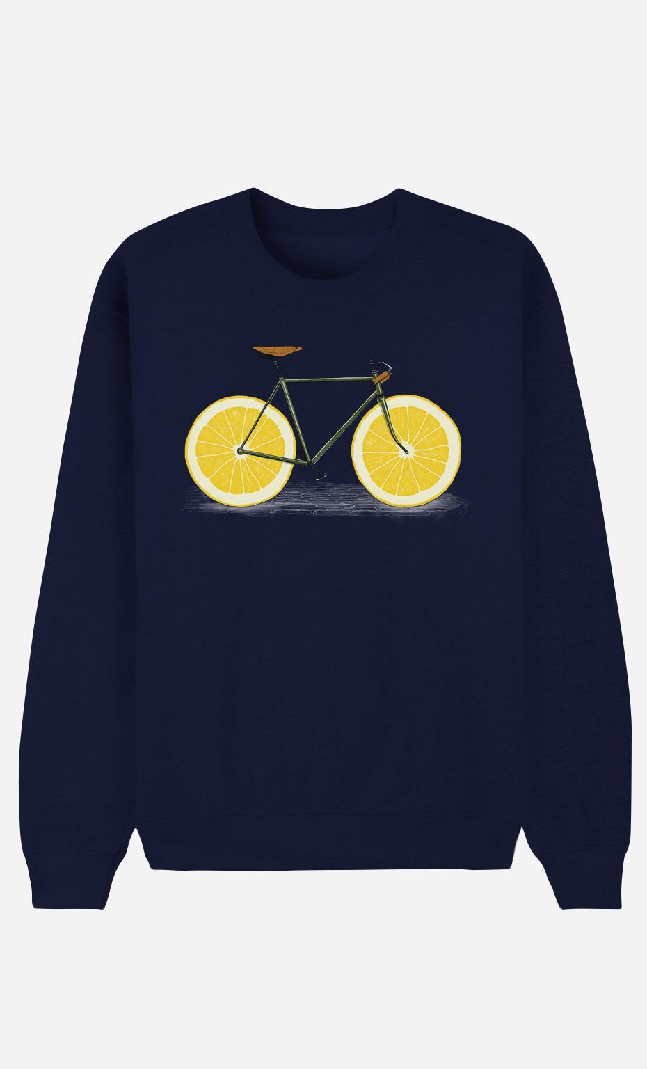 Blue Sweatshirt Zest