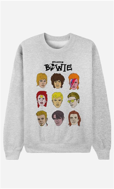 Sweatshirt David Bowie