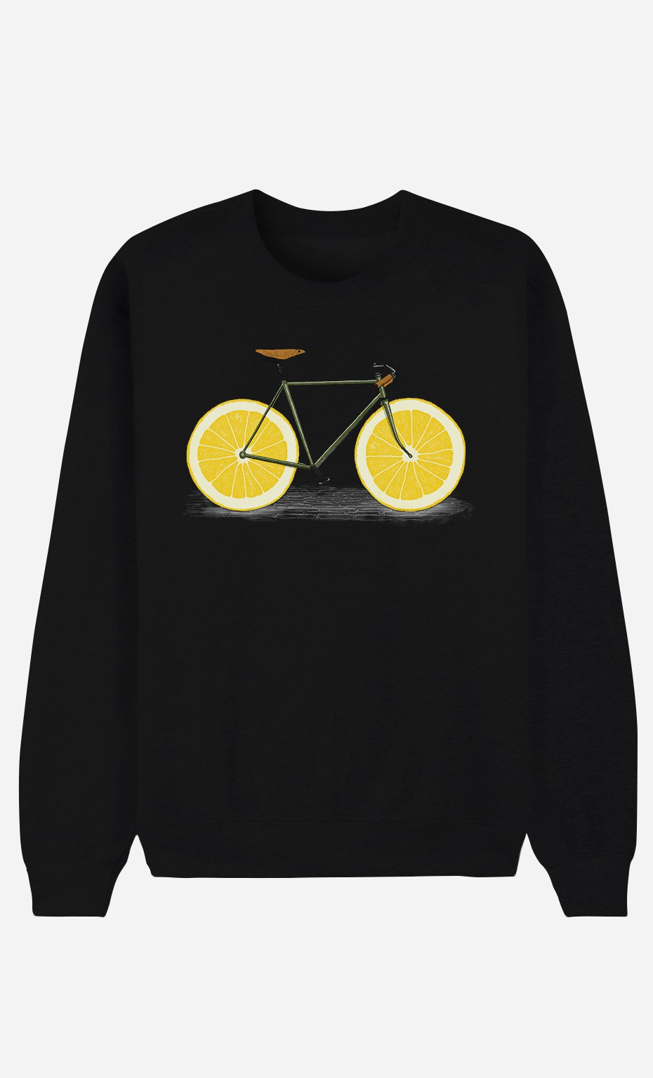 Black Sweatshirt Zest