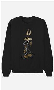 Black Sweatshirt Overboard Coyote