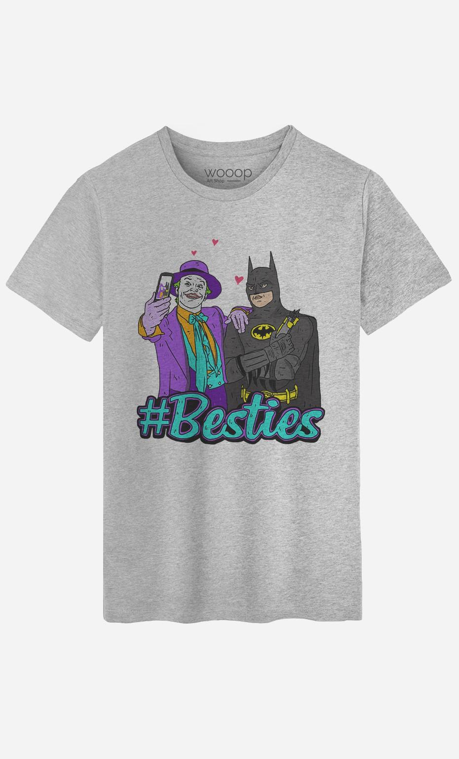 T-Shirt Joker & Batman