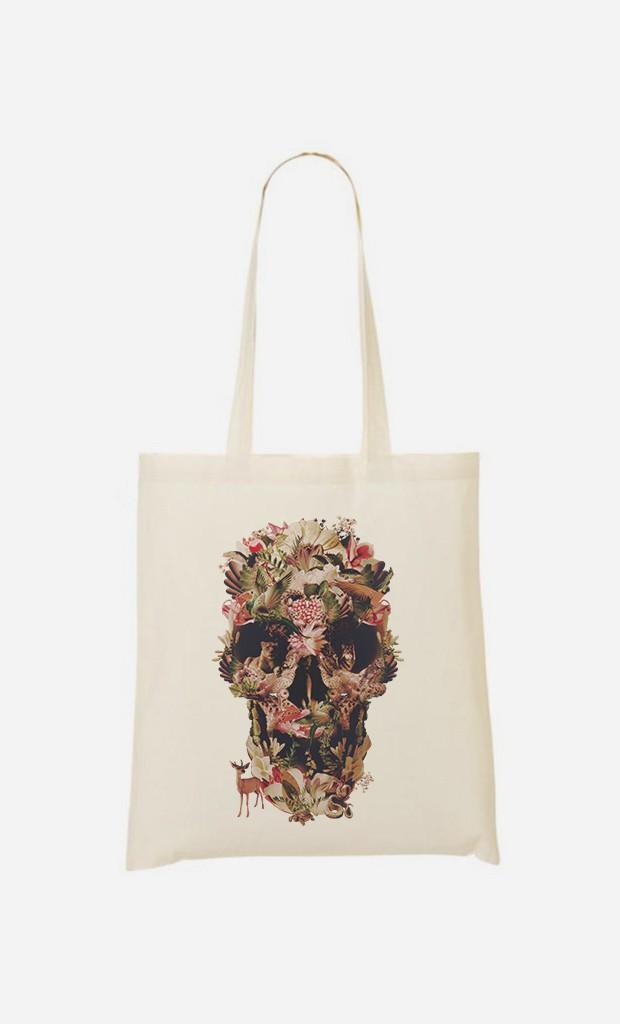 Tote Bag Jungle Skull