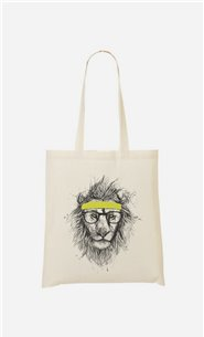 Tote Bag Hipster Lion