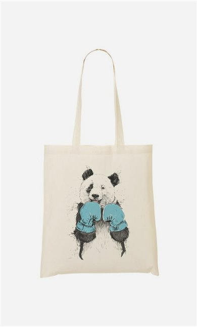 Tote Bag The Winner Panda