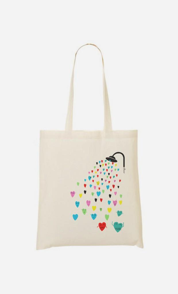 Tote Bag Love Shower