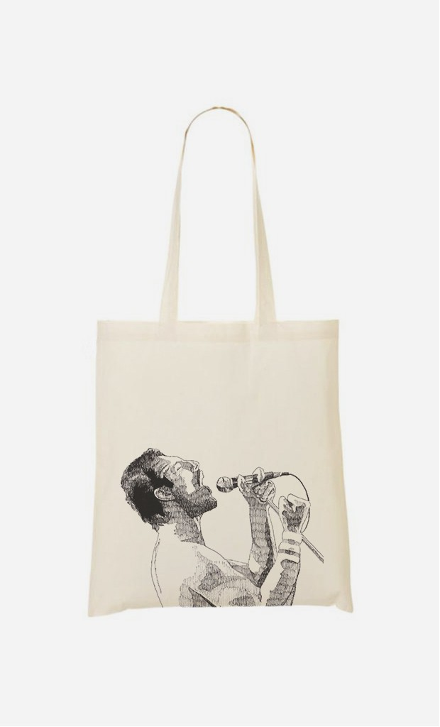 Tote Bag Freddie Mercury