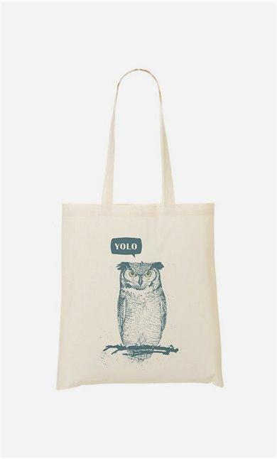 Tote Bag Yolo Owl