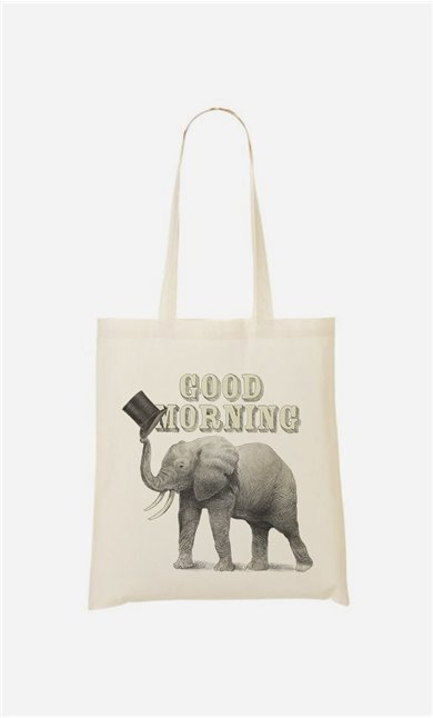 Tote Bag Good Morning