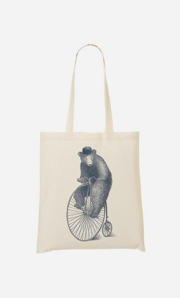 Tote Bag Morning Ride
