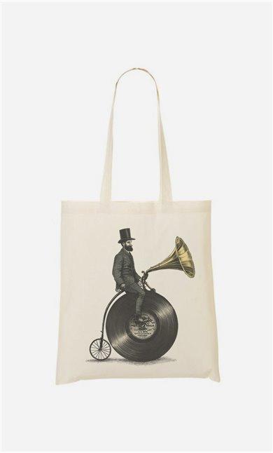 Tote Bag Music Man