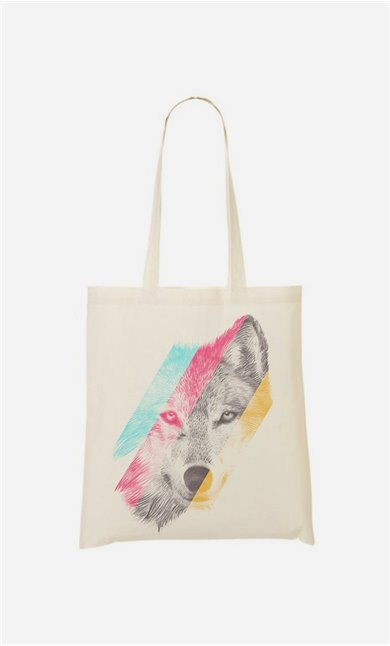 Tote Bag Wild Wolf