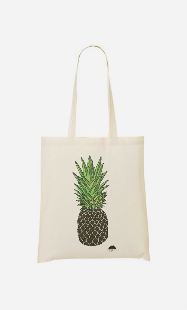 Tote Bag Pineapple Paul