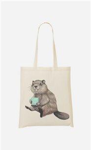 Tote Bag Beaver
