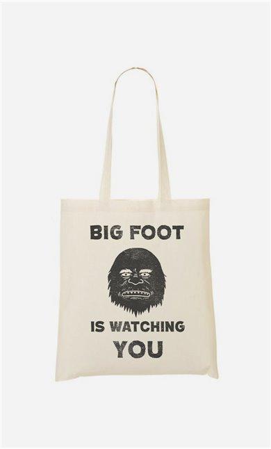 Tote Bag Big Foot