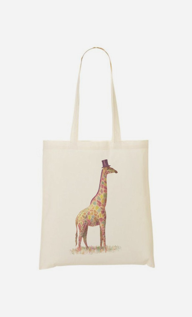Tote Bag Fashionable Giraffe