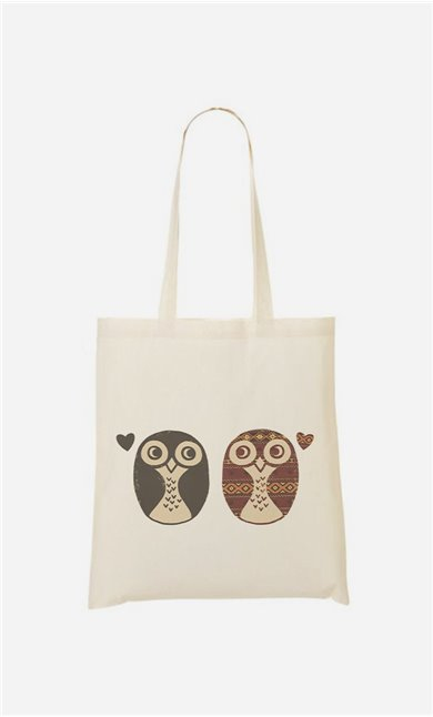 Tote Bag Opposites Attract