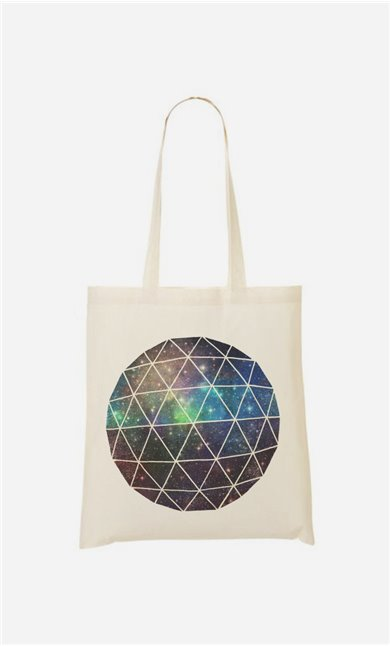 Tote Bag Space Geodesic