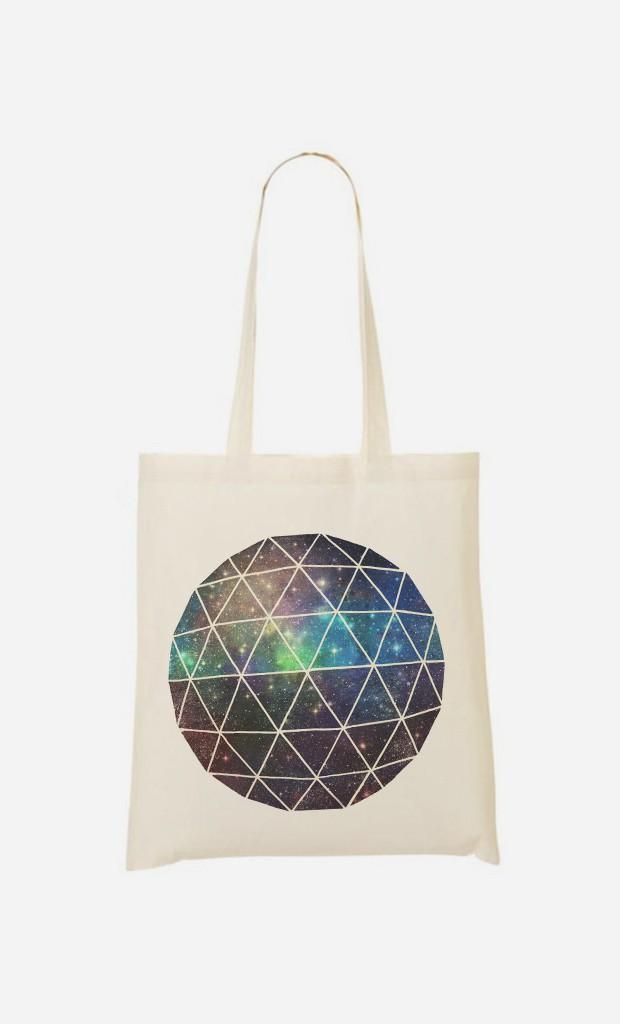 Tote Bag Space Geodesic