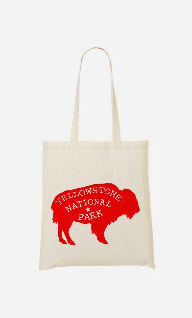 Tote Bag Yellowstone Red