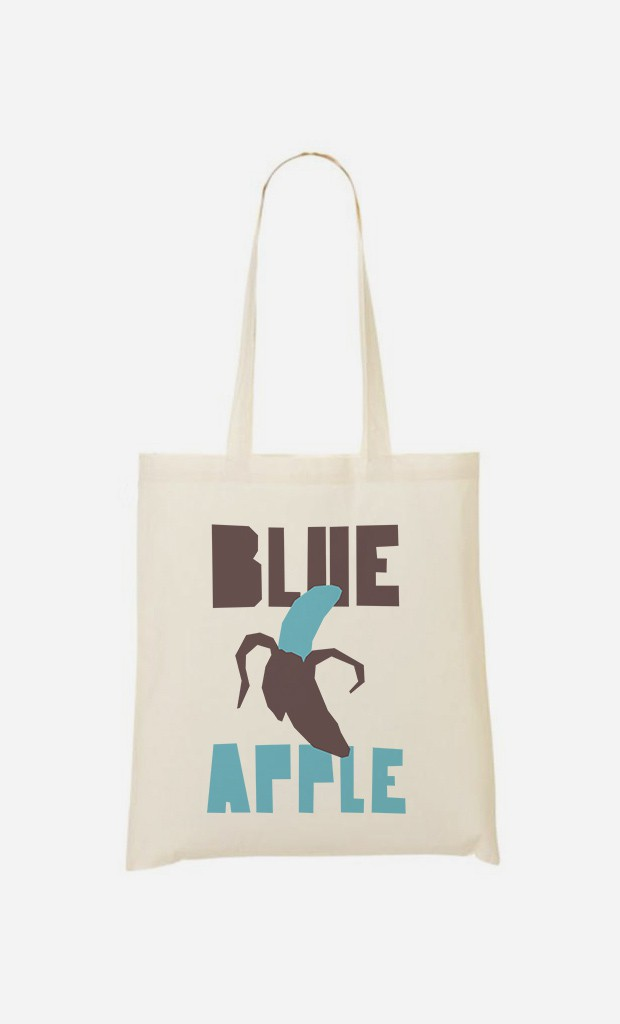 Tote Bag Blue Orange