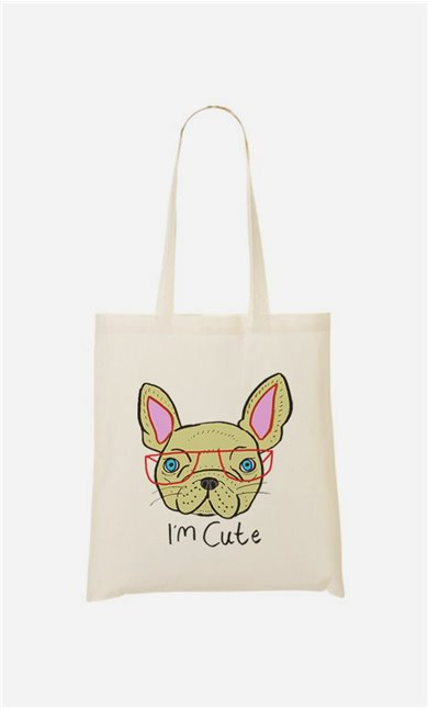 Tote Bag I Am Cute