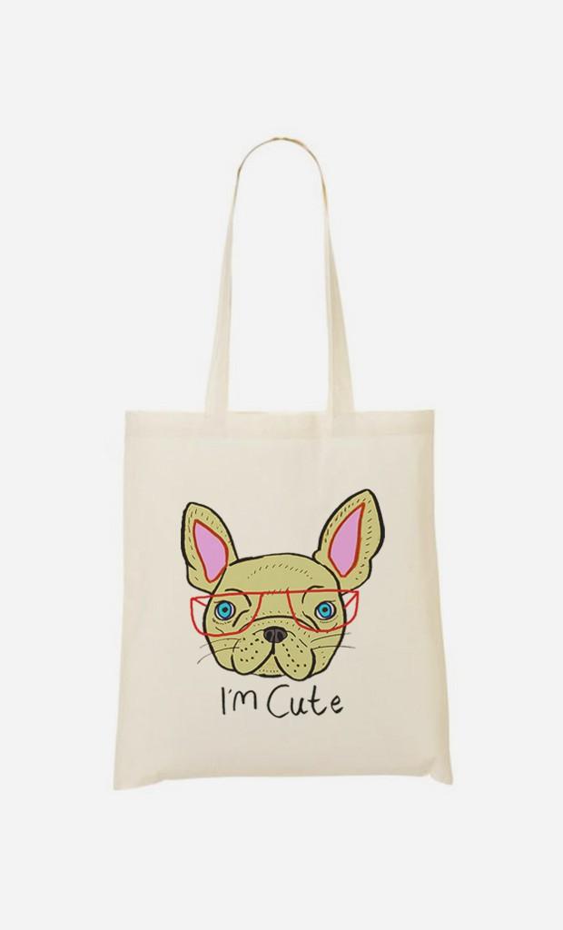 Tote Bag I Am Cute