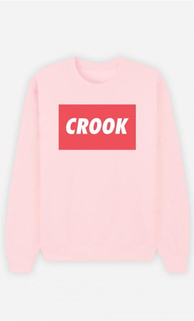 Pink Sweatshirt Crook
