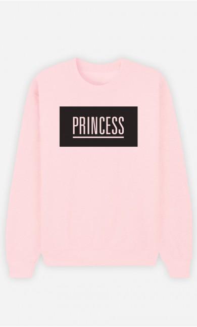 Pink Sweatshirt Princess